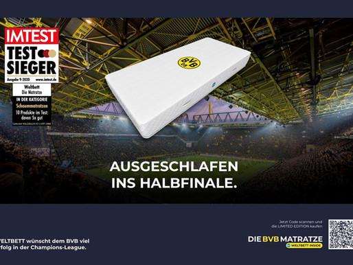 """""""Ausgeschlafen ins Halbfinale – Auf geht´s, BVB!"""""""
