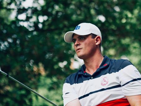 Golfer Yannik Emmert steht vor seiner zweiten Saison auf der Pro Golf Tour