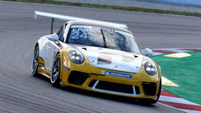 Rookie Jannes Fittje punktet im Porsche Mobil1 Supercup