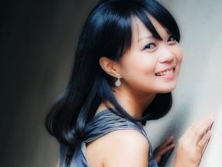 ピアニストの西尾真実さんが埼玉ピアノショールームに来店されました。