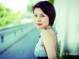 ピアニストの川﨑翔子さんが埼玉ピアノショールームに来店されました。