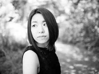 ピアニストの小林侑奈さんが埼玉ピアノショールームに来店されました。