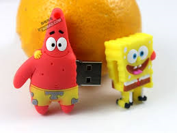8GB Spongebob Squarepants USB Drive