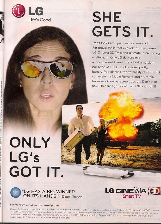 Yay Carolina Booking the LG Campaign