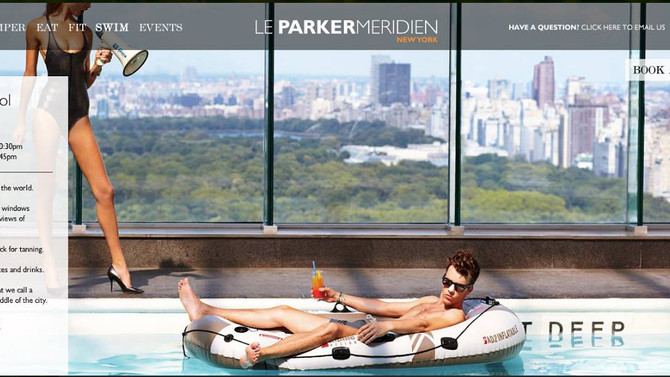 Congrats Billy on Le Parker Meridien Hotel Campaign