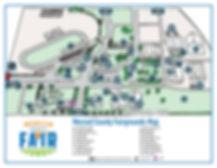 Map of Merced County Fair