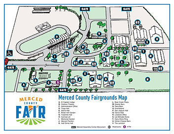 The Merced County Fair Home MAPS DIRECTIONS