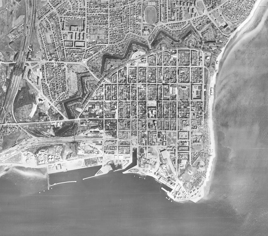 Fredericia en 1954