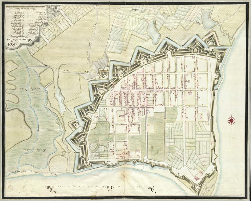 Fredericia en 1770