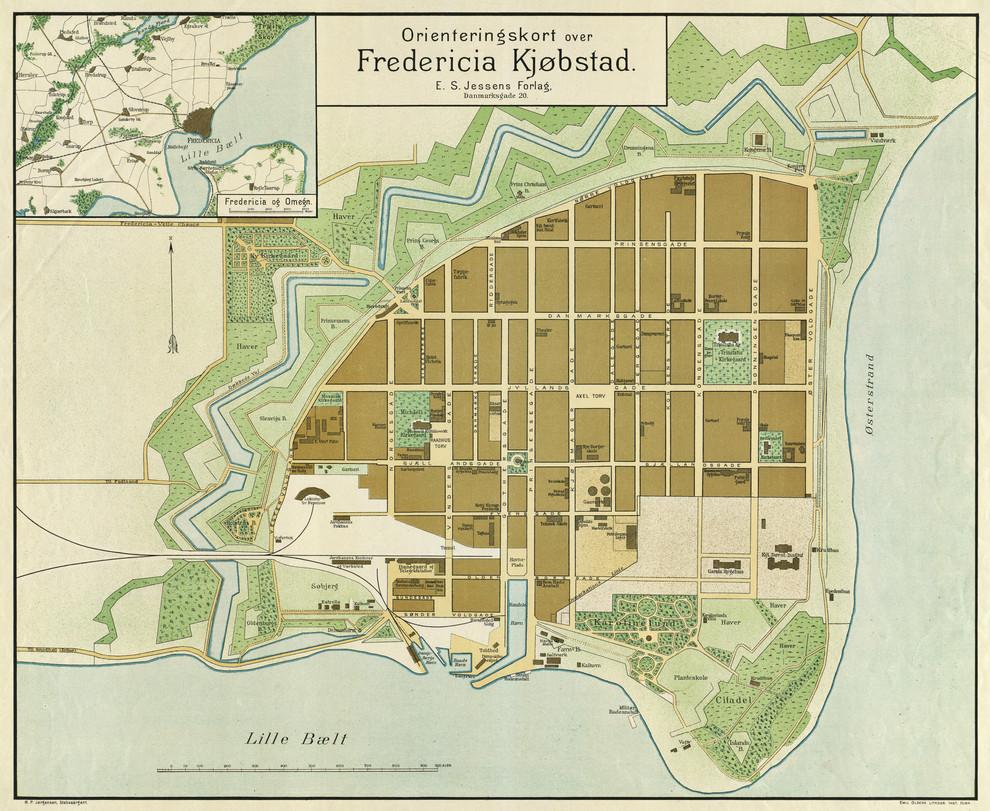Fredericia en 1898