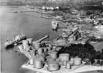 Terminal de la raffinerie Shell