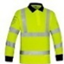 Hi Viz Long Sleeve Polo Shirt CFS546