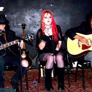 Dylan, Kat, and V