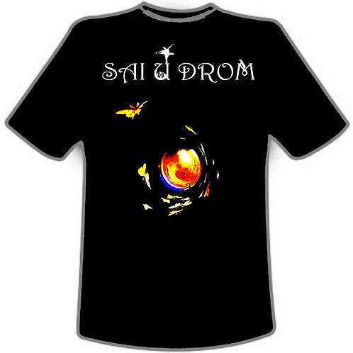 sai u drom butterfly trash can t-shirt
