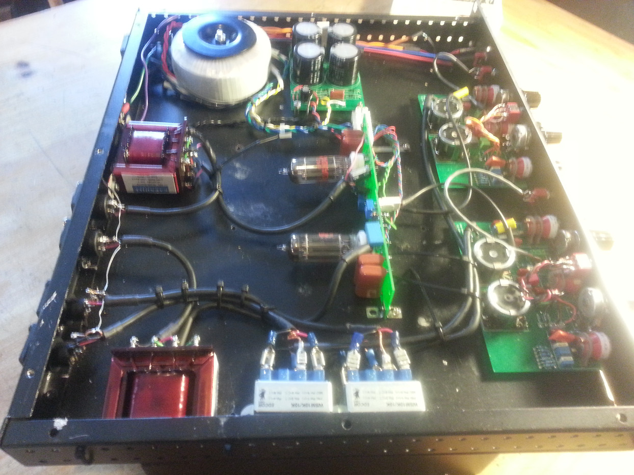 HE69TEQ tube gain dual channel helios eq