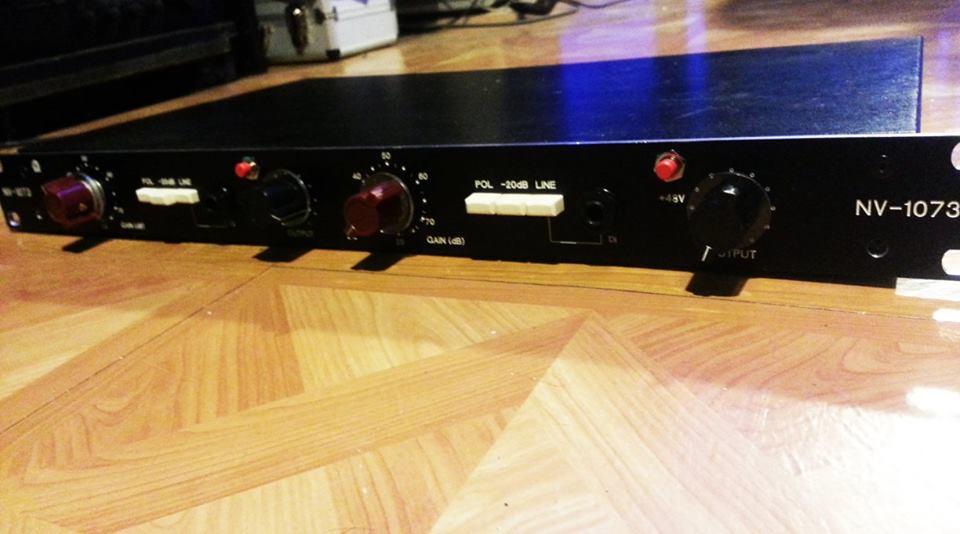 NV-1073 dual Neve mic preamp clone