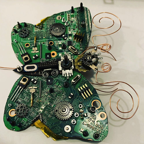 Cogmoth. Anatomically Incorrect Circuit Board Insect.