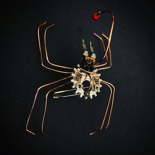 Lanternspider. Anatomically Incorrect Circuit Board Insect