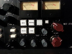 MX72-NV master/monitor section