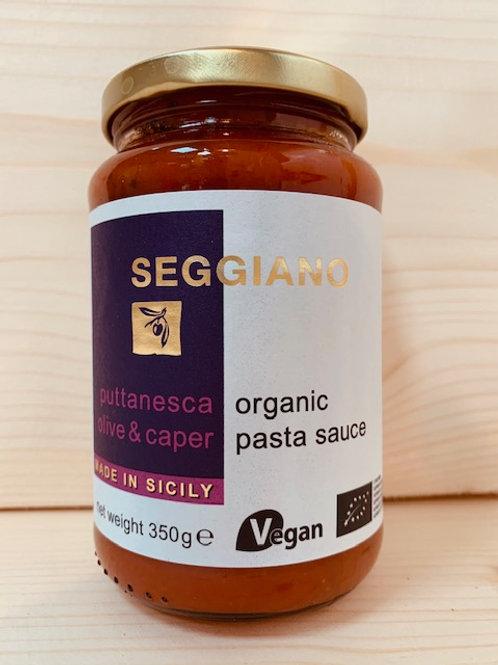 Seggiano Organic Pasta Sauce - Marinara [garlic]