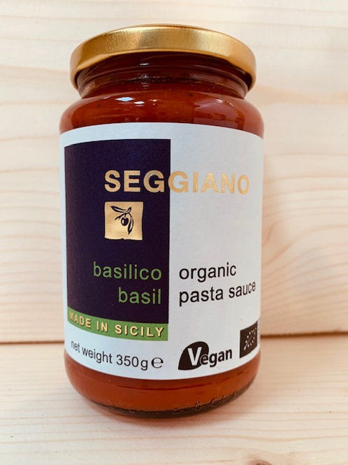 Seggiano Organic Pasta Sauce - basilico
