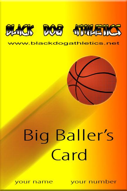 BIG BALLER'S CARD (basketball)