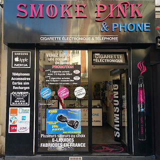 SMOKE PINK 163 Avenue de Clichy 75017 PARIS