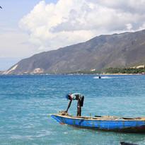 Fisherman on the Sea