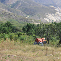 Tent on the Mountainside