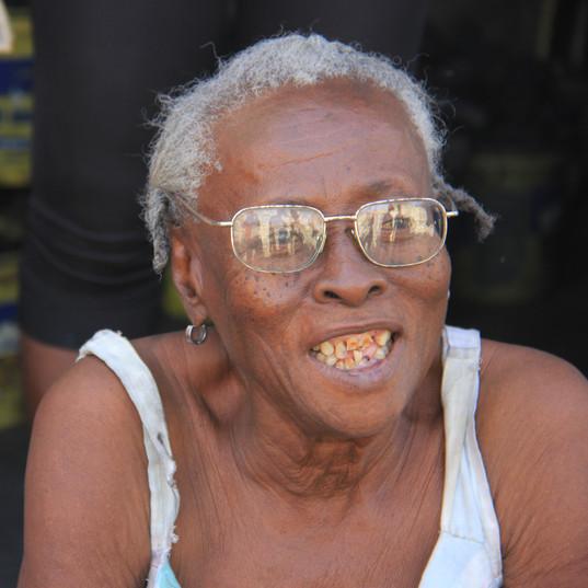 Elderly Woman on Street