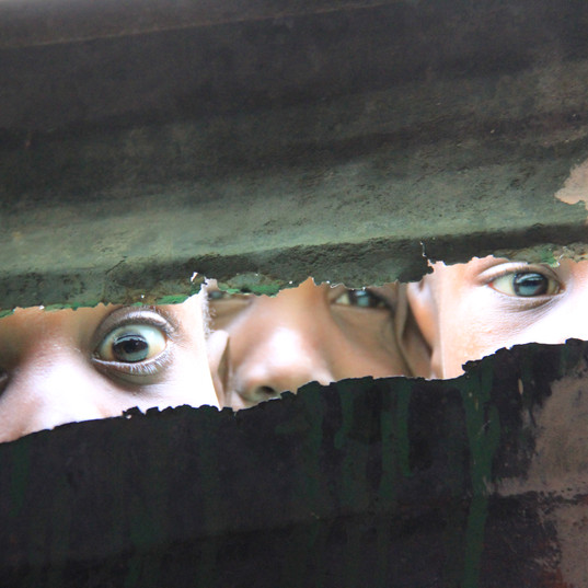 Peeping Eyes Thru the Walls of the Clinic