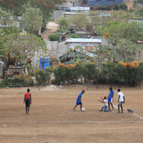 Soccer on the Moutnainside