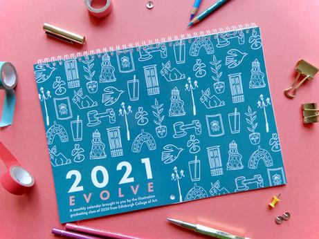 EVOLVE Calendar 2021