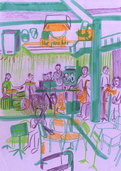 Tinderbox Rehearsal - Jazz Bar, Edinburgh