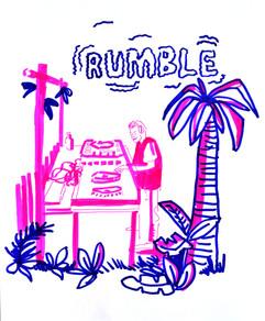 Rumble in the Jungle Event - La Belle Angelle, Edinburgh