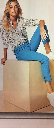 Pantalon Lisette 260756 rose, azure