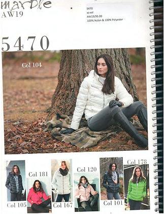 Manteau Marble 5470  104 blanc, 101 noir,  120 rose