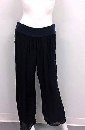 pantalon Charlie B. C5081 rose, marine, sable, blanc