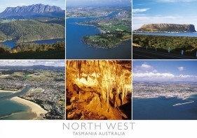 North West Tasmania Australia Postcard PC274