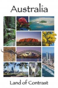 Australia Land of Contrast PC208