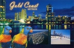 Gold Coast AUSTRALIA (4 scene) PC199