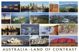 AUSTRALIA - LAND OF CONTRAST