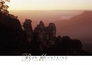 Blue Mountains Australia Sunset PC234