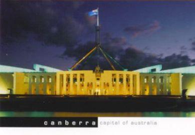 Canberra Capital of Australia (Parliament House)