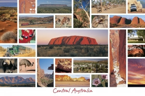 October 2021 - CENTRAL AUSTRALIA POSTCARDS!