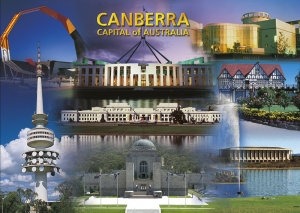 Canberra Capital of Australia (Montage), PC182