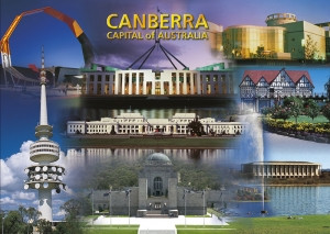 Canberra Capital of Australia (Montage) PC182
