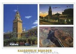 Kalgoorlie Boulder Western Australia Postcard PC255