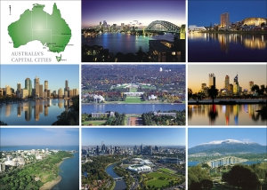 AUSTRALIA'S CAPITAL CITIES