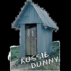 Aussie Dunny Shape Postcard PC227